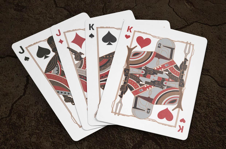 The Mandalorian Playing Cards