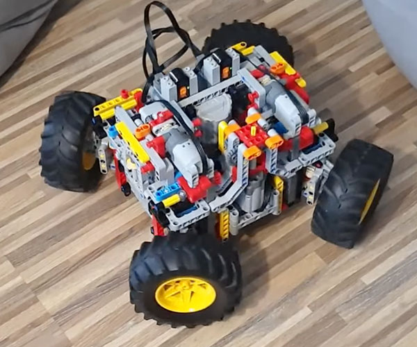 Transforming LEGO Technic Car