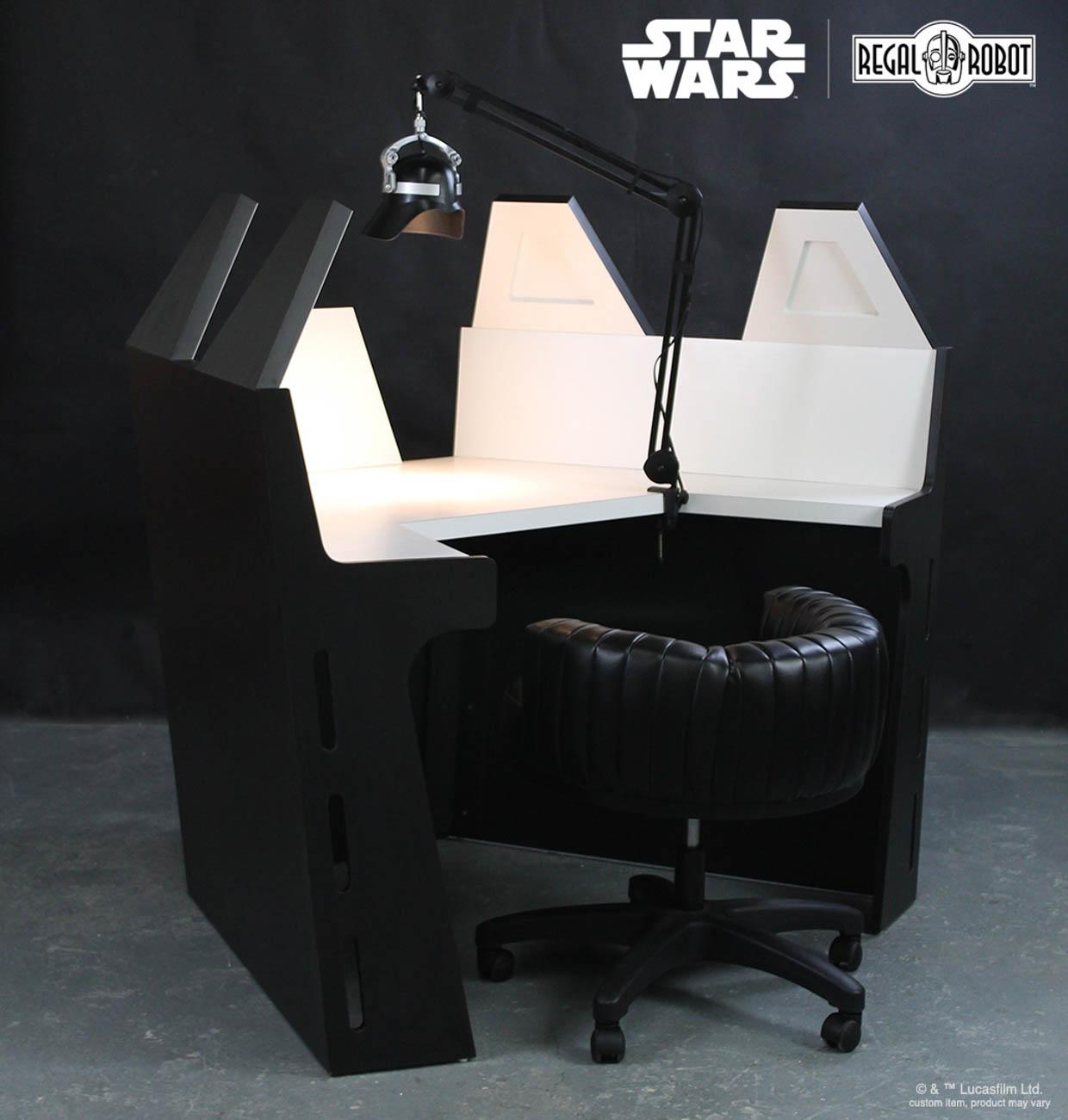 Darth Vader Meditation Chamber Desk