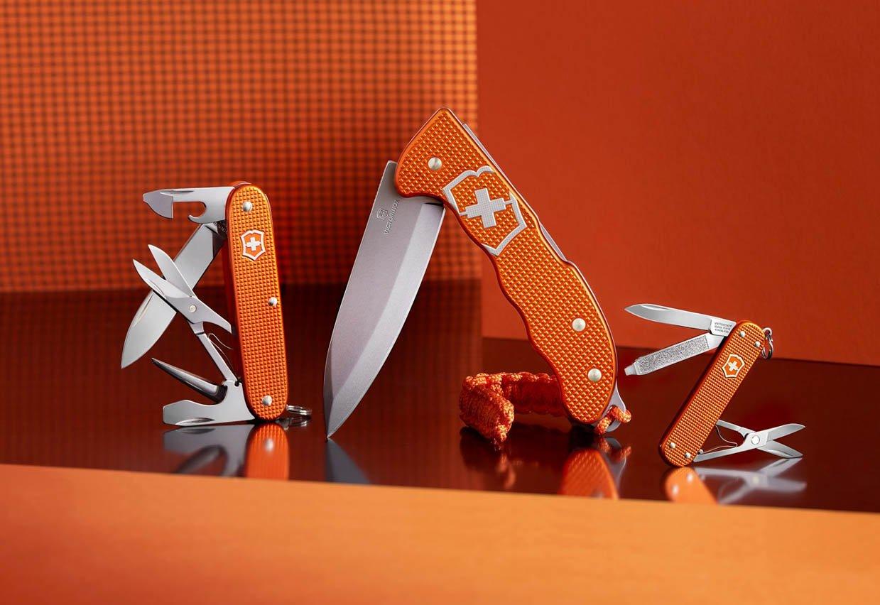Victorinox Alox Limited Edition 2021 Tiger Orange