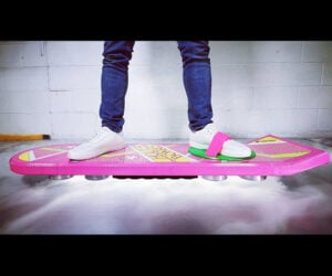 Working Back to the Future Hoverboard