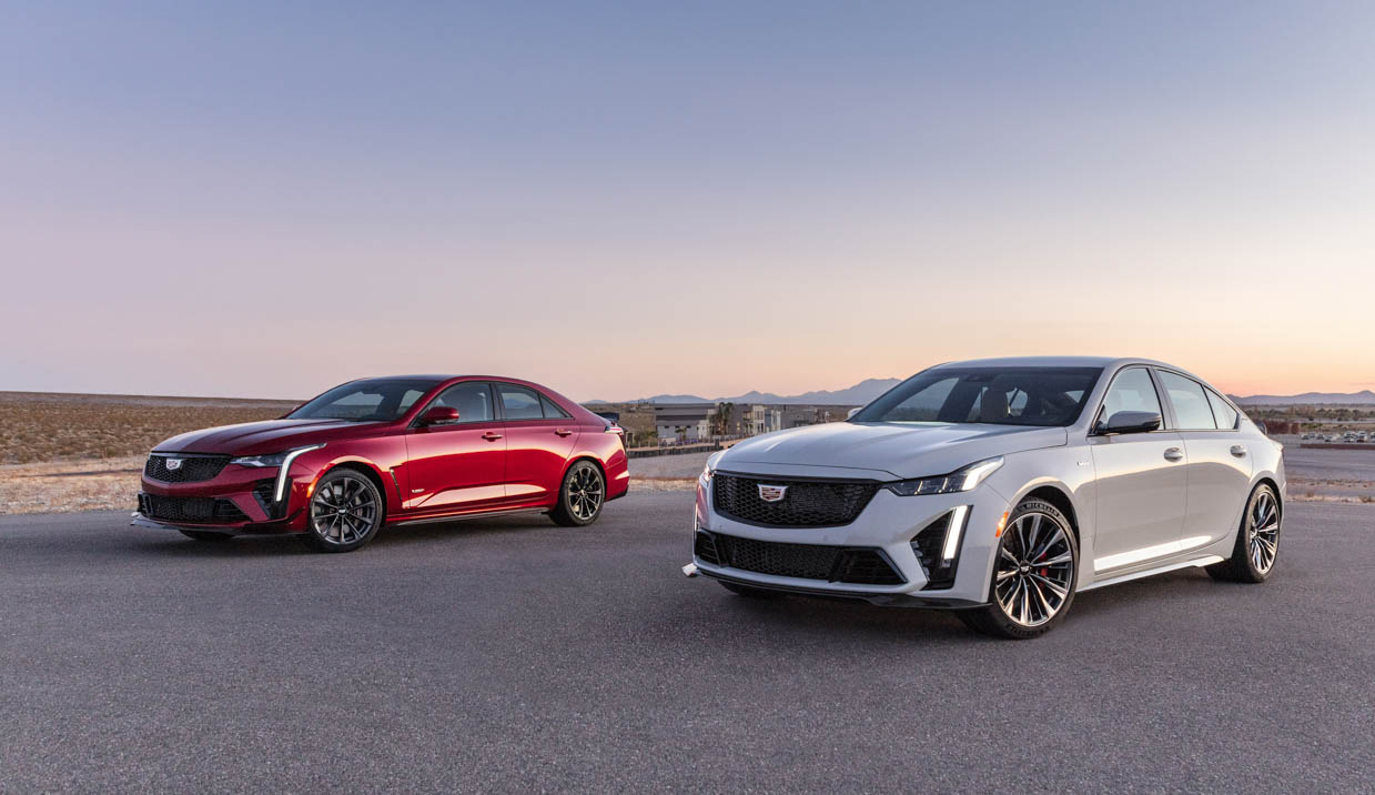 2022 Cadillac CT4-V and CT5-V Blackwing