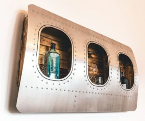 Aircraft Window Bar Shelf