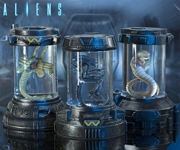 Aliens Containment Capsule Collection