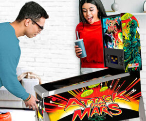 Attack from Mars Mini Pinball Machine
