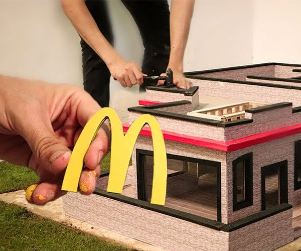 Building a Mini McDonald's