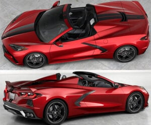 Win a 2021 Chevy Corvette C8 Z51 Convertible