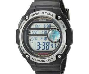 Casio AE-3000W World Time Watch