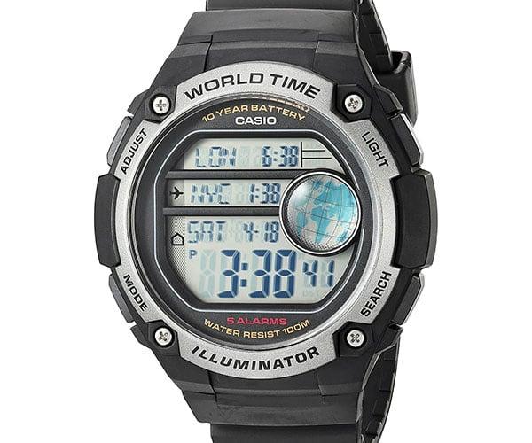 Casio AE-3000W World Time Watch