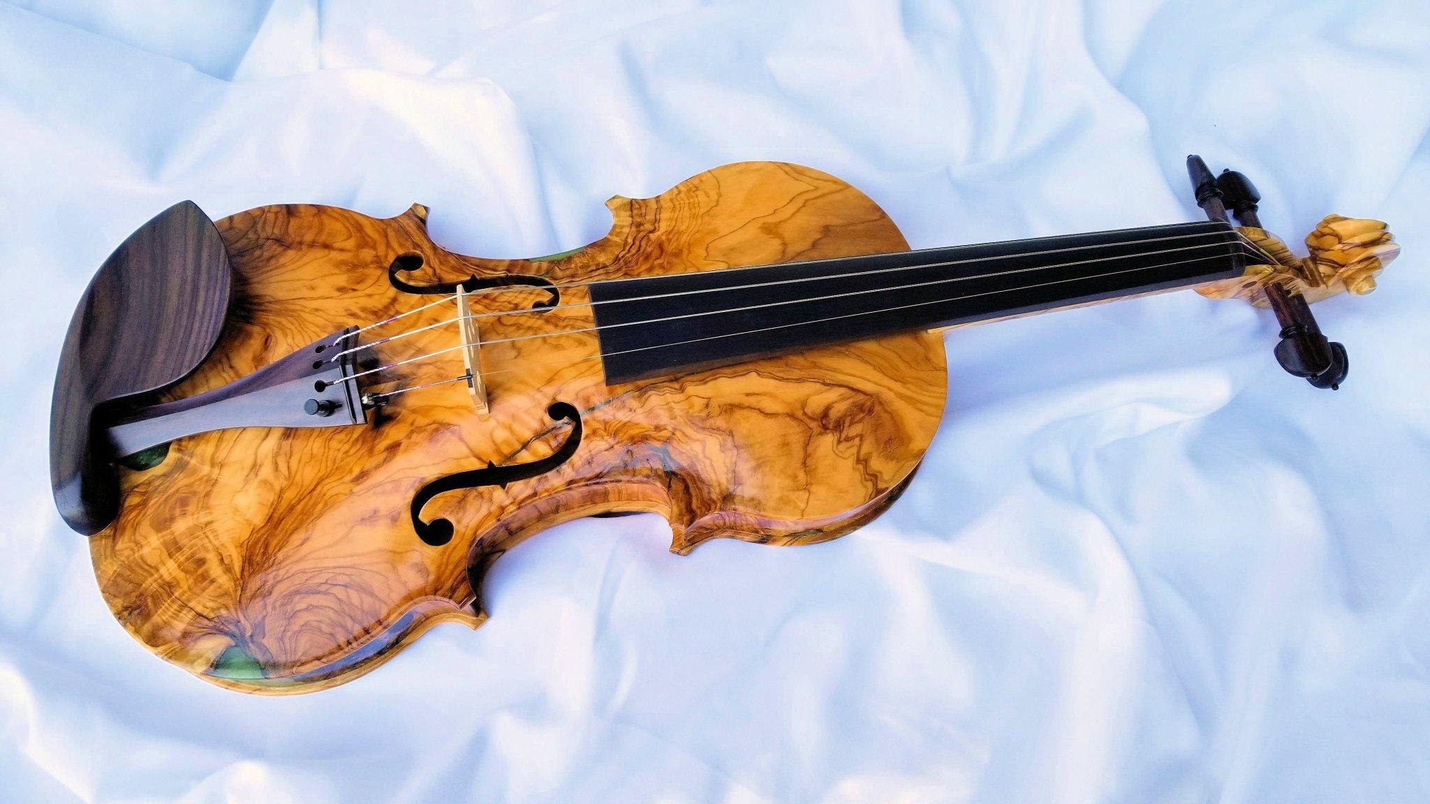 CNC Carving a Violin