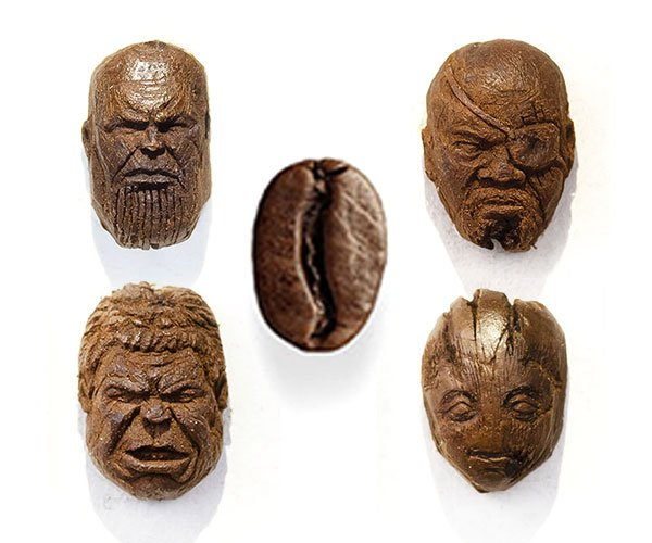 Carving Coffee Beans
