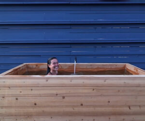 DIY Wood Hot Tub