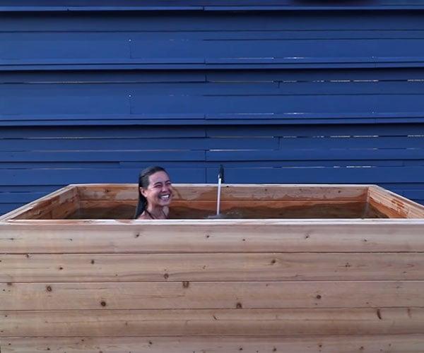 DIY Wood Hot Tub