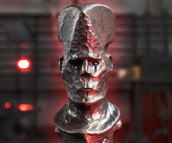 Forging a Human Head