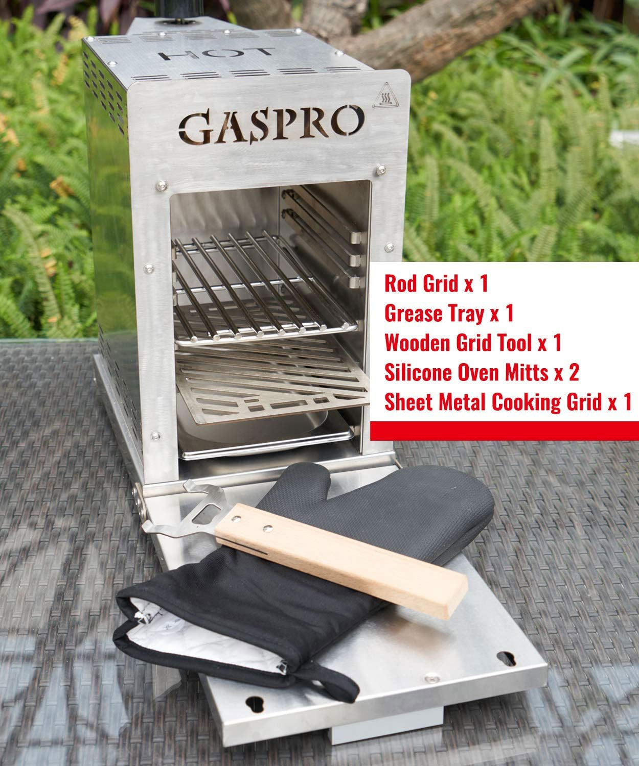 Gaspro Infrared Grill