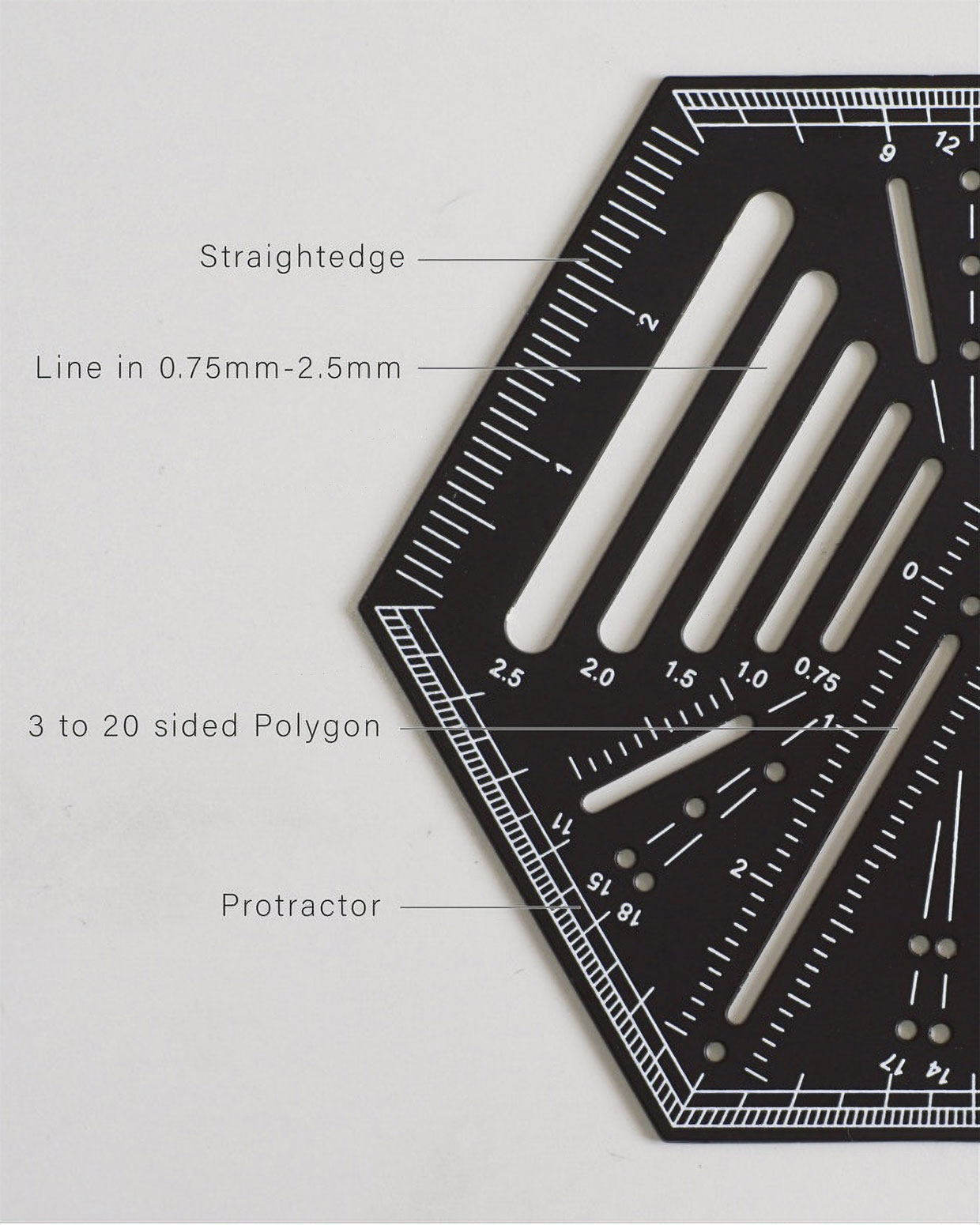 Hexagonal Ruler 2.0