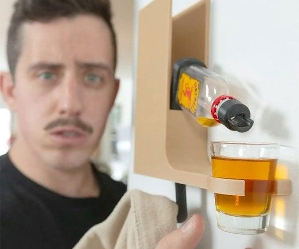 Hook Shot Drink Dispenser