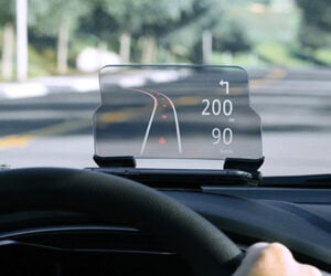 HUDWAY Glass Heads-Up Navigation Display