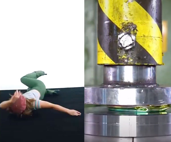 Hydraulic Press Channel Interpretive Dance