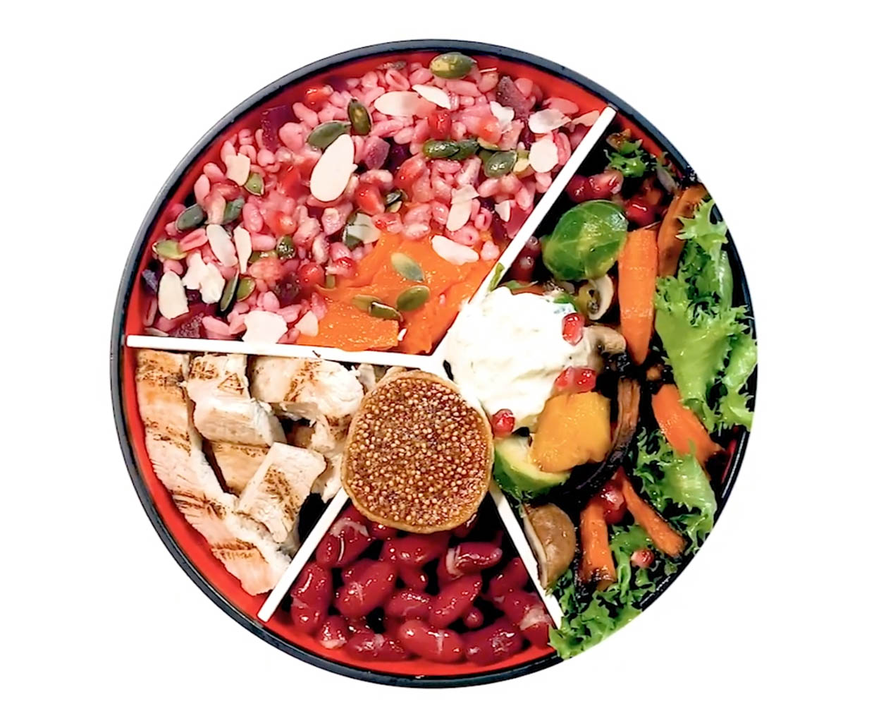 IGGI Portion Control Bowl