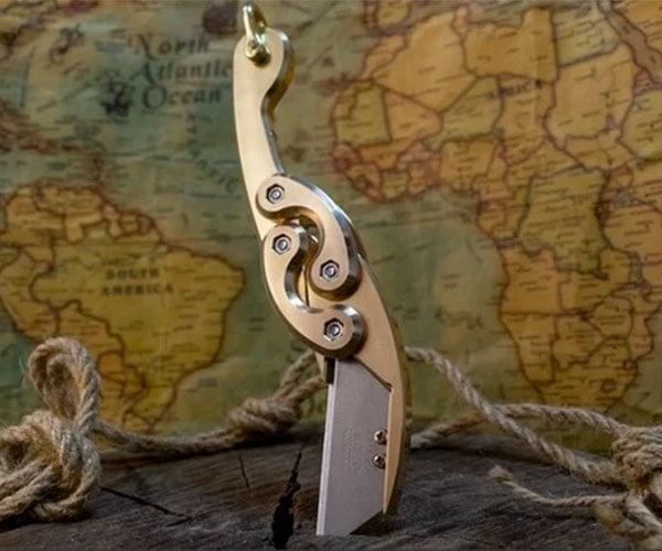 Oceanus Brass Kraken Blade