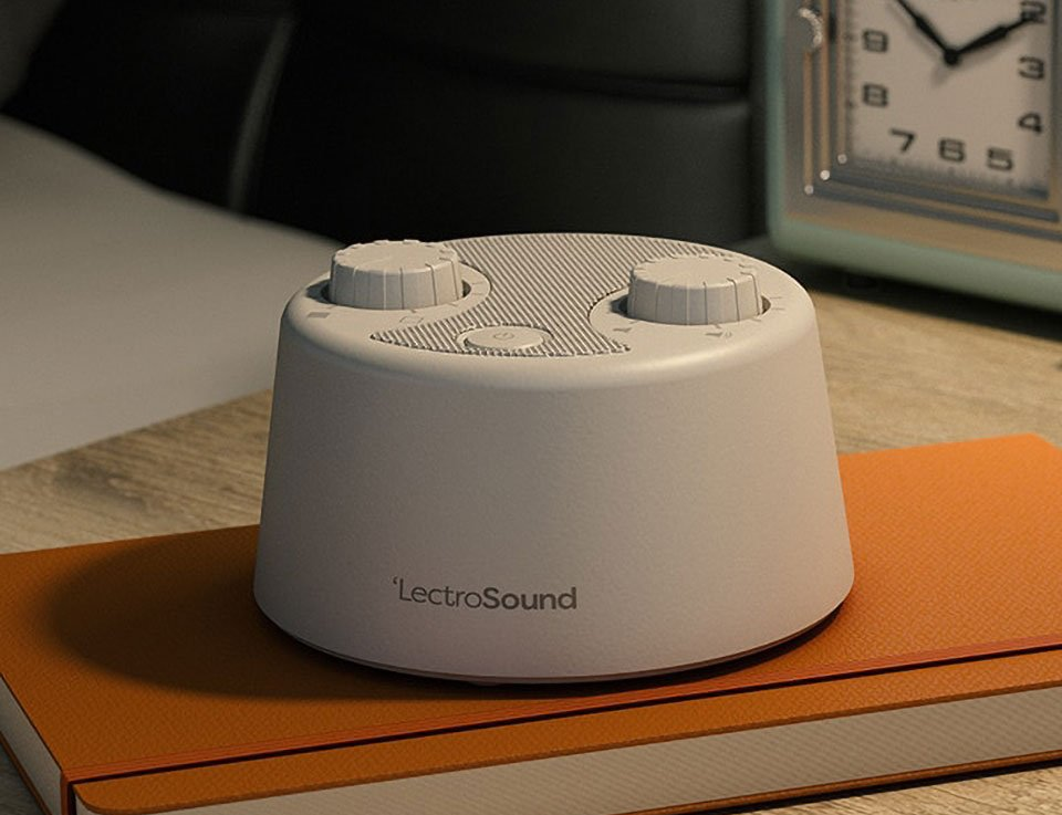 LectroSound Sleep + Relax White Noise Machine