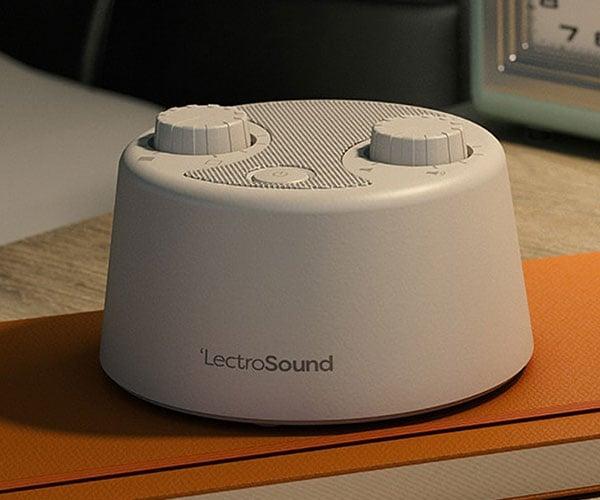 LectroSound Sleep + Relax White Noise Machine