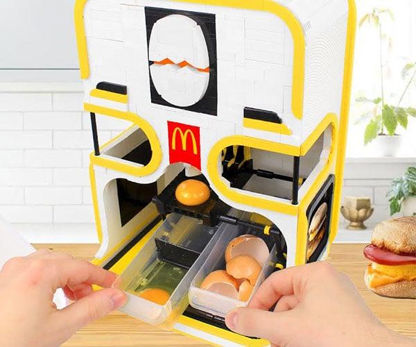LEGO Egg Cracking Machine