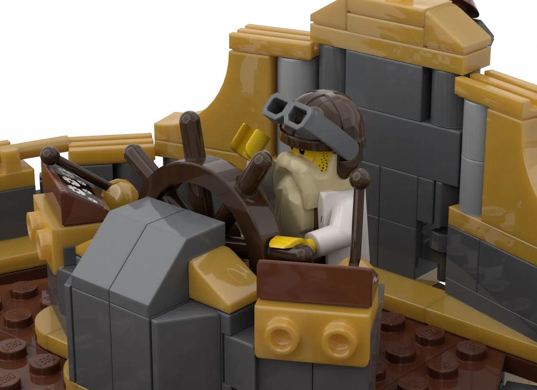 LEGO Ideas Steampunk Airship