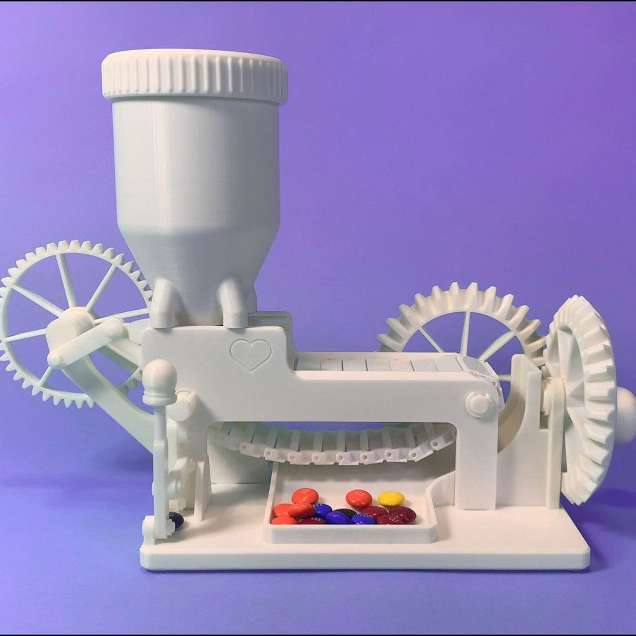 Over-engineered Candy Dispenser
