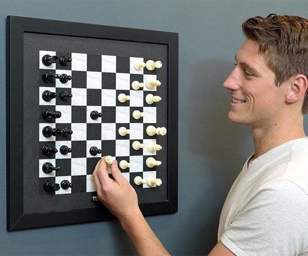 Magnetic Wall Chess Board