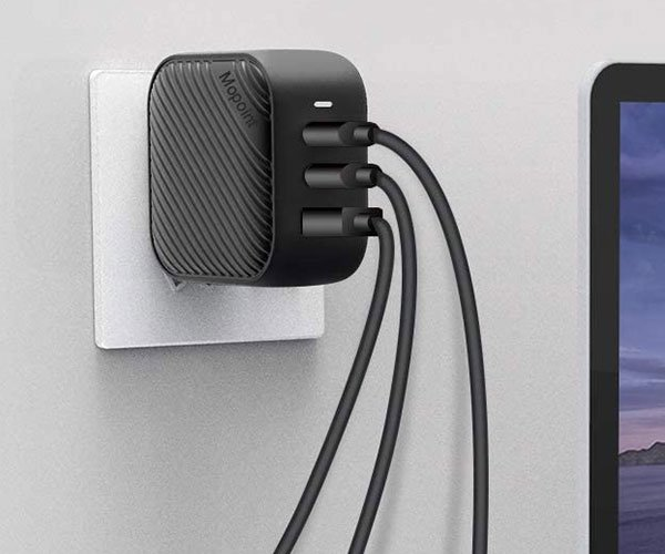 Mopoint 3-Device Charger