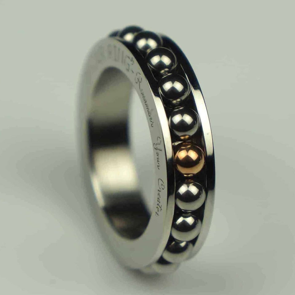 Motion Fidget Ring