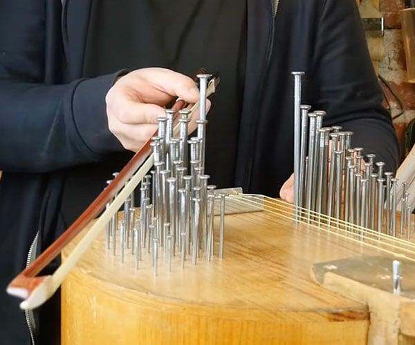 Making a Nail Violin