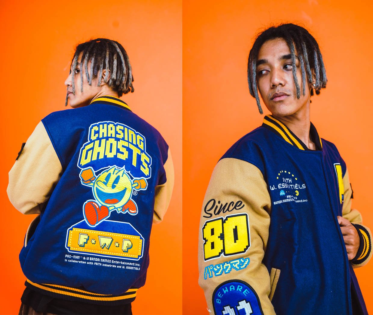 W.Essentiéls x Faith x Pac-Man Collection