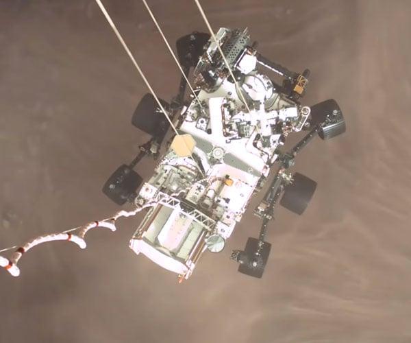 Mars Perseverance Rover Landing