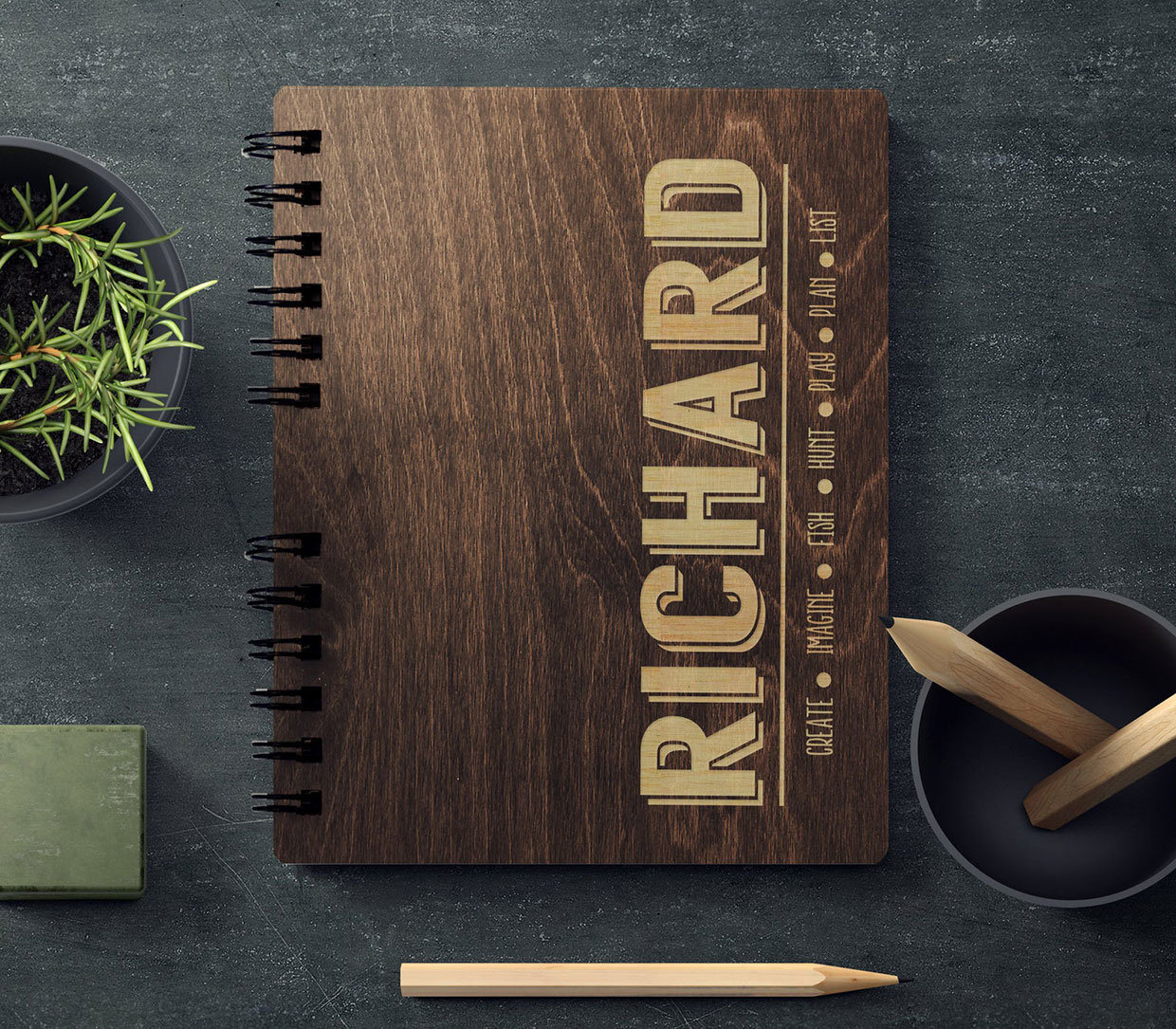 Personalized Wooden Journals
