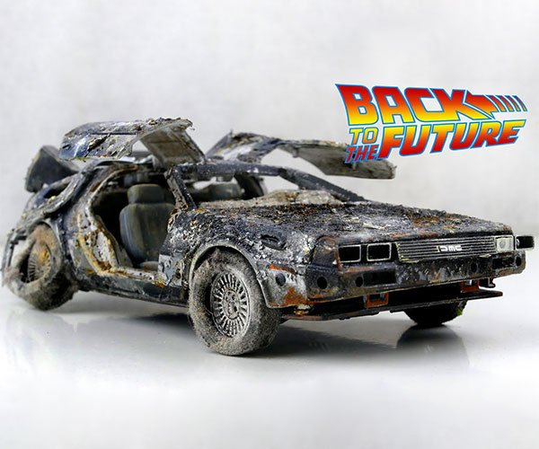 Restoring a Model DeLorean