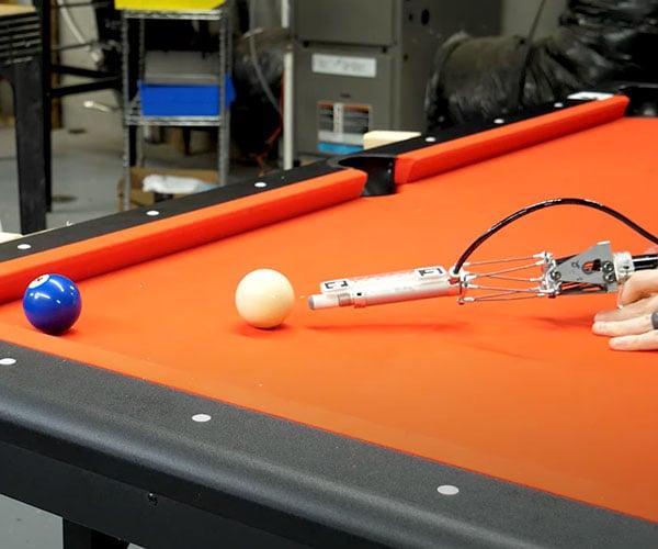 Robot Pool Cue