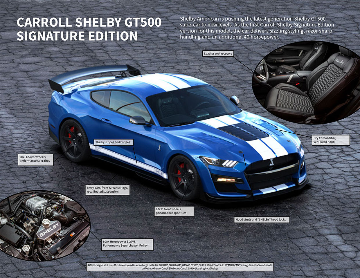Win an 800+HP Ford Mustang Shelby GT500SE