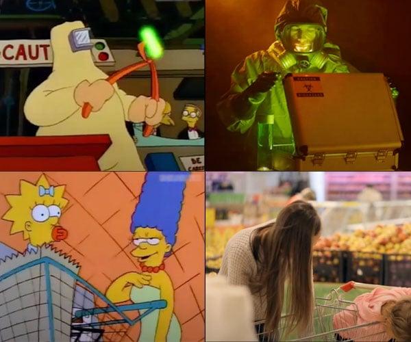 Stock Footage Simpsons