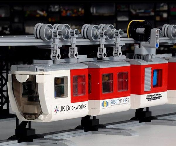 LEGO Suspended Train