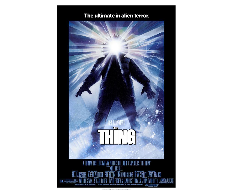 John Carpenter's The Thing Lenticular Prints