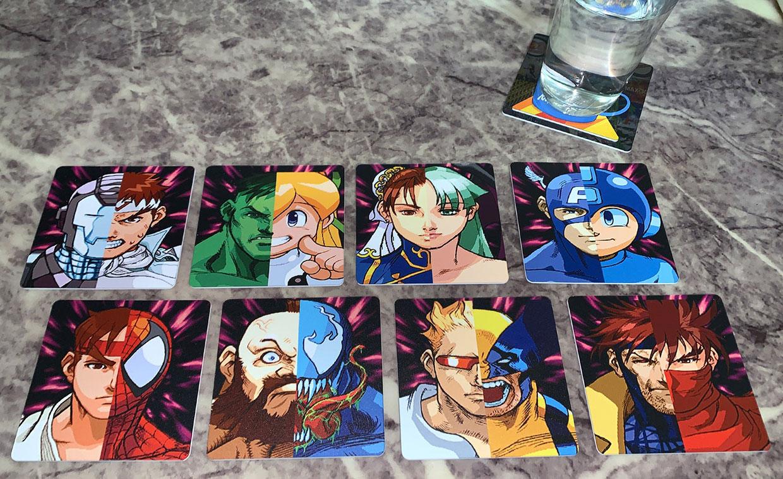 Video Game Drink Coasters
