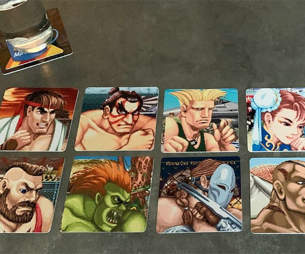 Video Game Drink Coasters