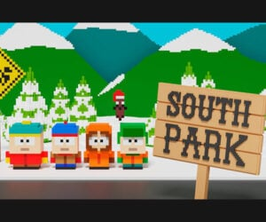 Voxel Art South Park