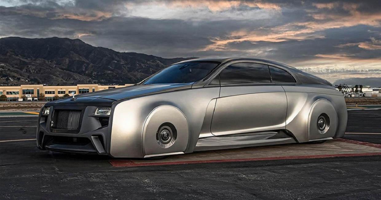 West Coast Customs Floating Rolls-Royce Wraith