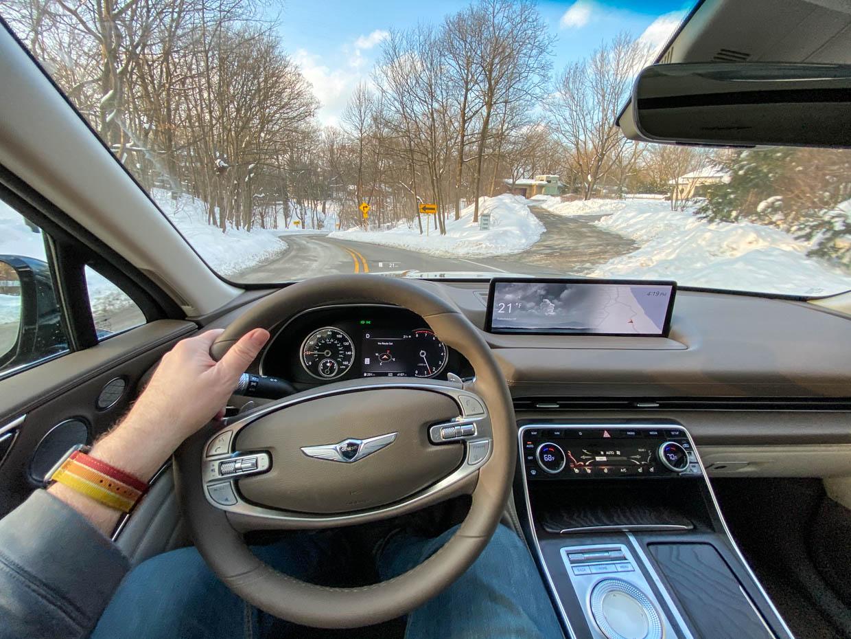 Driven: 2021 Genesis GV80