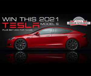 Win a Loaded 2021 Tesla Model S Performance
