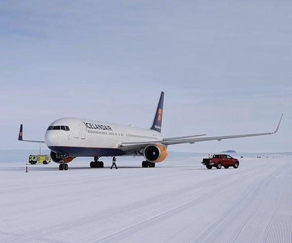 Running an Airport in Antarctica